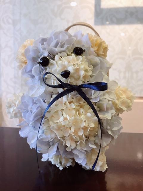 クマのブーケ.JPG
