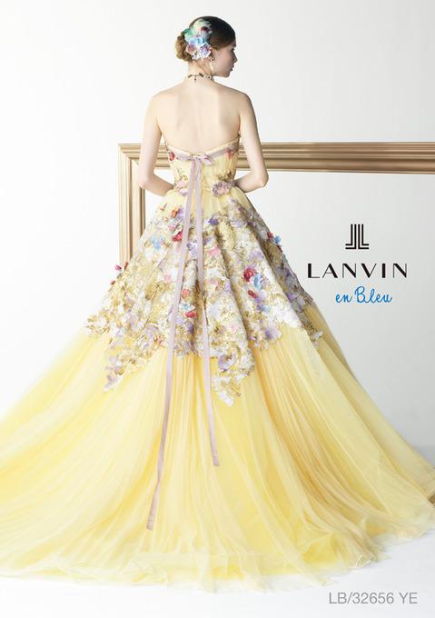 ランバン イエロー ドレス.jpg